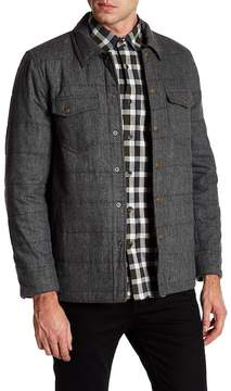 Billy Reid Quilted Snap Button Jacket