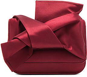 No. 21 Bow Shoulder Bag in Red.