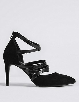 Marks and Spencer Stiletto Caged Court Shoes