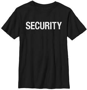 Fifth Sun Black & White 'Security' Tee - Boys