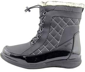 totes Womens Lisa Round Toe Ankle Cold Weather Boots.