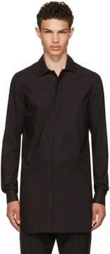 Rick Owens Black Office Shirt