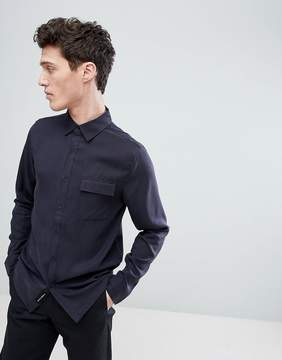 NATIVE YOUTH Straight Hem Shirt