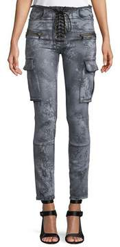 Unravel Cloudy Basic Cargo Skinny Jeans