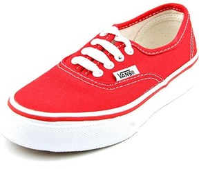Vans Authentic Round Toe Synthetic Sneakers.