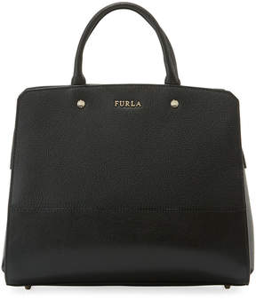 Furla Rachel Large Leather Satchel Bag
