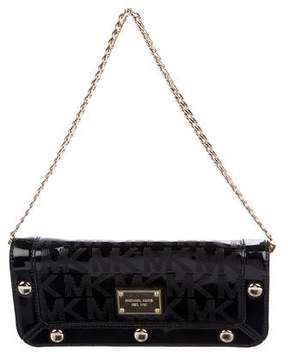 MICHAEL Michael Kors Monogram Chain Clutch