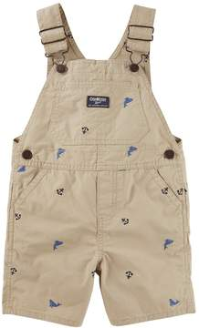 Osh Kosh Oshkosh Bgosh Baby Boy Embroidered Whale & Anchor Shortalls