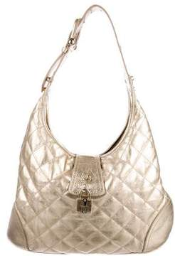 Burberry Metallic Brooke Hobo