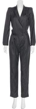 Boy By Band Of Outsiders Wool Pinstripe Jumpsuit