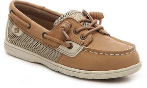Sperry Girls Shoresider Youth Boat Shoe