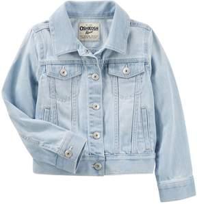 Osh Kosh Oshkosh Bgosh Girls 4-12 Classic Denim Wind Wash Jacket