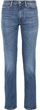 Acne Studios South Mid-rise Straight-leg Jeans - Mid denim