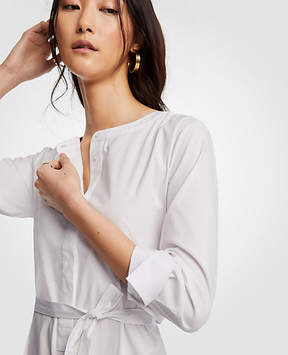 Ann Taylor Tall Belted Tunic Shirt