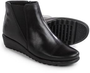Italian Shoemakers Wedge Booties - Leather (For Women)