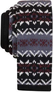 Bar III Men's Hagney Knit Slim Tie, Created for Macy's
