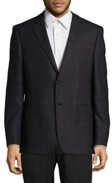 Lauren Ralph Lauren Wool Two-Button Blazer