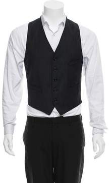 Band Of Outsiders Pinstripe Suit Vest