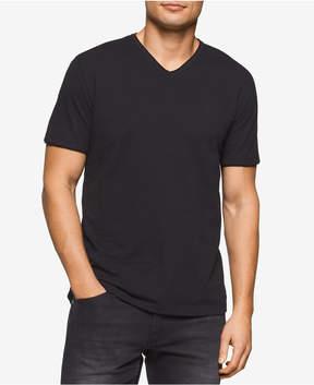 Calvin Klein Jeans Men's Solid V-Neck T-Shirt