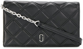 Marc Jacobs quilted clutch bag - BLACK - STYLE