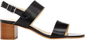 Barneys New York Women's Double-Band Slingback Sandals