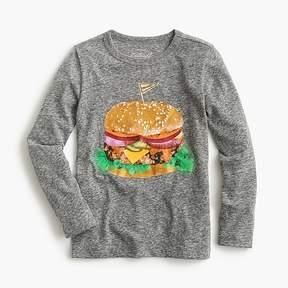 J.Crew Girls' deluxe burger T-shirt