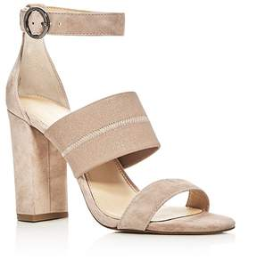 Botkier Gisella Suede Ankle Strap High Heel Sandals
