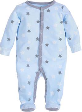 Petit Lem Blue Star Footie - Infant