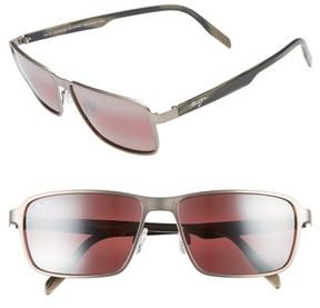 Maui Jim Men's Glass Beach Polarizedplus2 54Mm Sunglasses - Brushed Sand