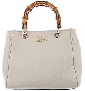 Gucci Mini Bamboo Shopper Tote - NEUTRALS - STYLE