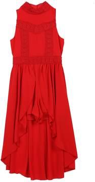 Speechless Girls 7-16 Lace High-Low Sleeveless Dress
