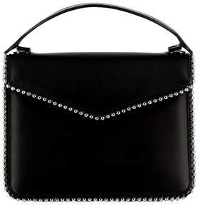 Les Petits Joueurs Women's Black Leather Handbag.