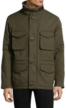 Rainforest Button-Through Heated Jacket