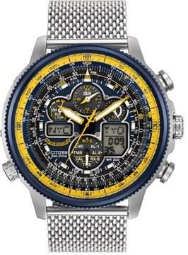 Citizen Men's JY8031-56L Blue Angel Navihawk Stainless Steel Watch, 48mm