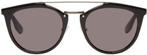 McQ Black Oxford Sunglasses
