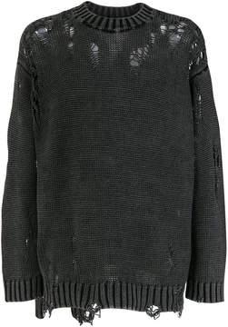 R 13 distressed jumper