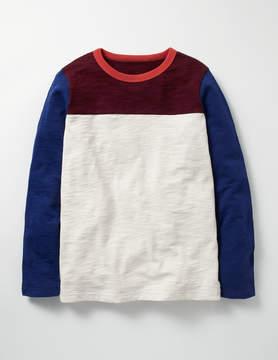 Boden Sporty Colourblock T-shirt
