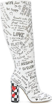 Dolce & Gabbana Vally knee length boots