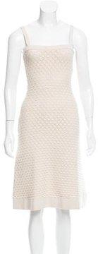 Christian Dior Patterned Midi Dress
