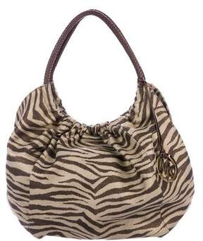 MICHAEL Michael Kors Printed Canvas Tote