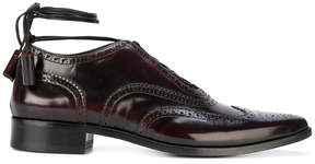 DSQUARED2 ankle tie brogues