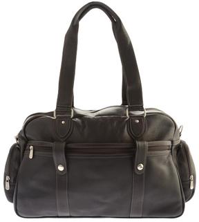Women's Piel Leather Adventurer Carry-On Satchel 3017