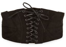 Steve Madden Corset Leather Belt