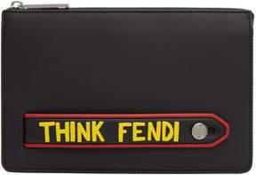 Fendi Black Think Pouch