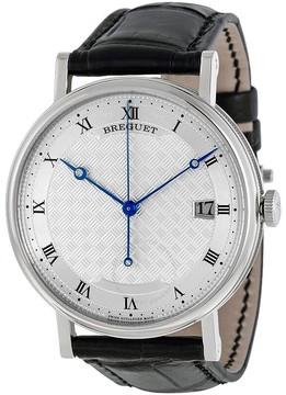 Breguet Classique Silver Dial 18kt White Gold Men's Watch 5177BB129V6