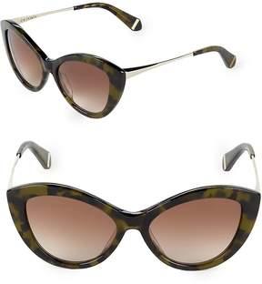 Zac Posen Women's Shelley 50MM Butterfly Sunglasses