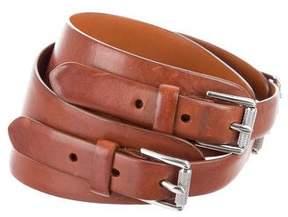 Ralph Lauren Brown Leather Belt