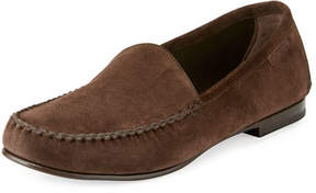 Tom Ford Howard Suede Loafer, Chocolate