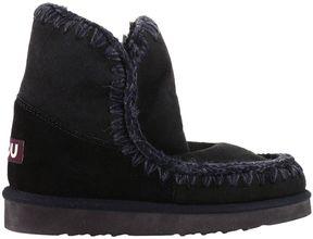 Mou Flat Booties Shoes Women