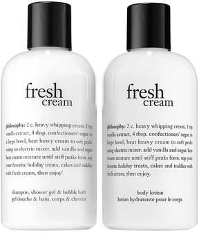 philosophy Fresh Cream Shower Gel, Shampoo, Bath & Shower Gel & Fresh Cream Body Lotion